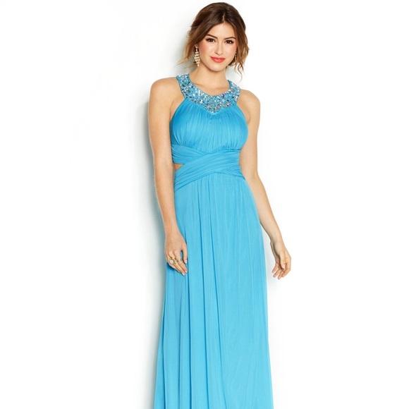 ea3e7d895fd Macy s Dresses   Skirts - Macy s Light Blue Prom Dress